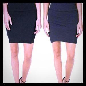 Lily White adjustable mini skirt size M
